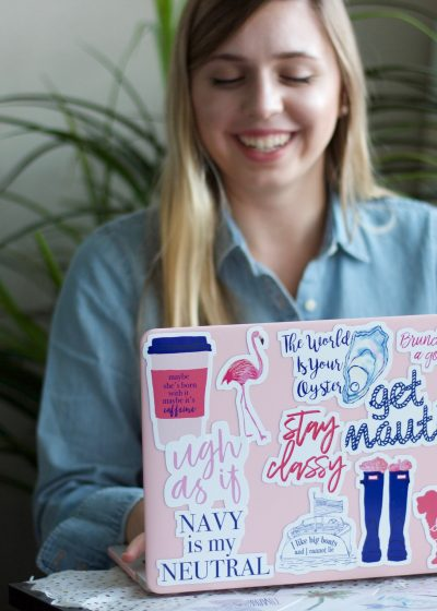 Preppy Sticker Collection Youtube Video