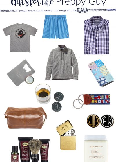 Gift Guide for a Preppy Guy